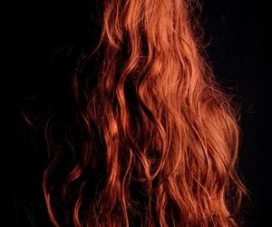hair, redhead, and long image