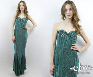 etsy, sequin dress, and mermaid dress image