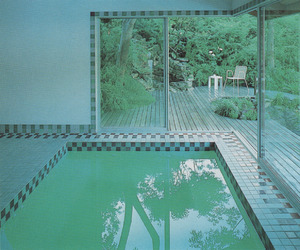 pool, aesthetic, and green image