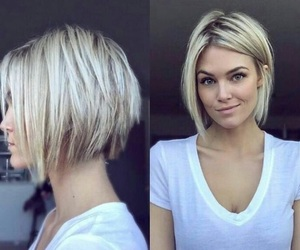 hair, blond, and blonde image