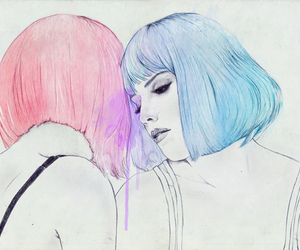 halsey, art, and ghost image