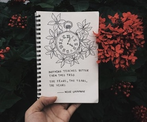 quotes, flowers, and fear image