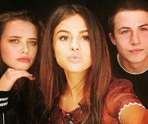 selena gomez, 13 reasons why, and dylan minnette image