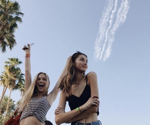 coachella, girl, and tumblr image