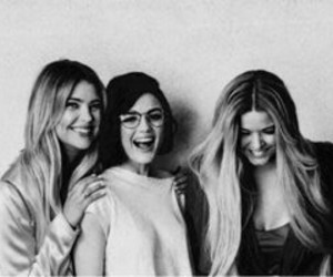 lucy hale, ashley benson, and sasha pieterse image