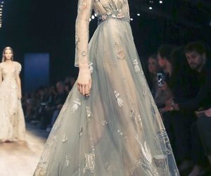 dress, haute couture, and model image
