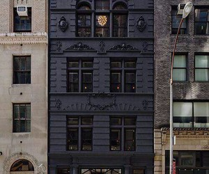 black, building, and house image