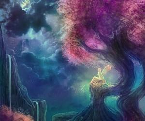 fairy and tree image
