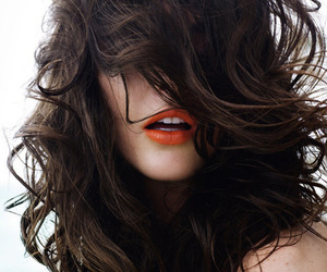 hair, lips, and model image