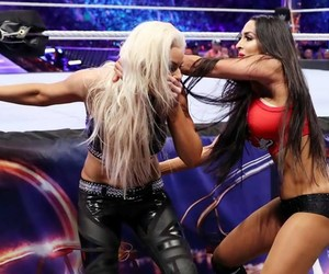 wwe, nikki bella, and wrestlemania image