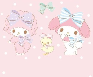 sanrio, my melody, and wallpaper image