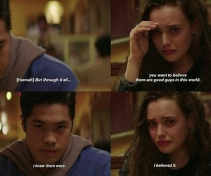 13 reasons why, hannah baker, and zach dempsey image