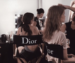 dior, model, and fashion image