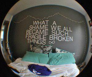 room, quote, and paramore image