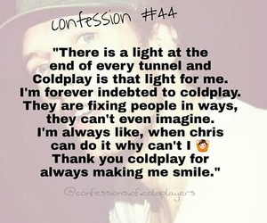 coldplay, quote, and coldplayer image