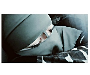 niqab, picture, and love image