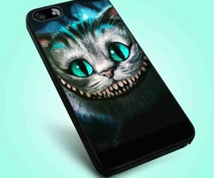 alice in wonderland, cat, and Cheshire cat image