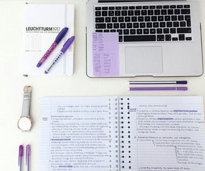 college, journals, and notebooks image