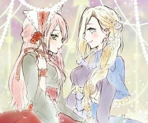 sakura haruno, ino yamanaka, and naruto girls image
