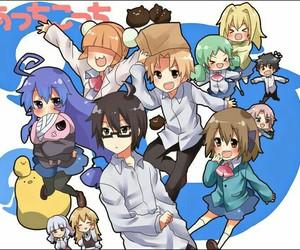 anime girl, fan art, and io otonashi image