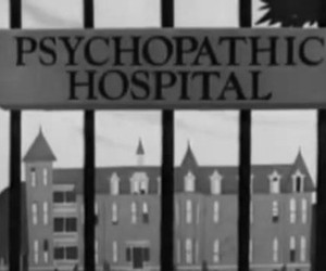 hospital, psychopathic, and Psycho image