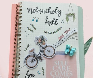 art journal, calligraphy, and cursive image