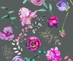 beautiful, pattern, and floral image