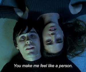 jared leto, couple, and requiem for a dream image
