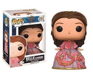 beauty and the beast, belle, and popvinyl image