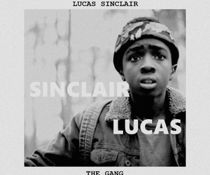 stranger things and lucas sinclair image