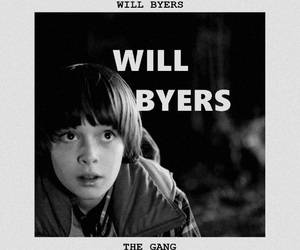 the gang, stranger things, and will byers image