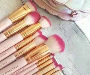 pink, makeup, and spectrum image