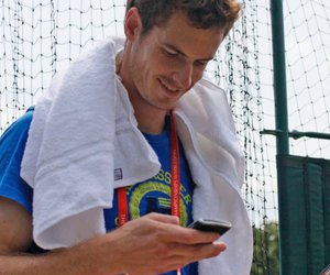 tweet and andy murray image