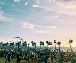 coachella, party, and rave image