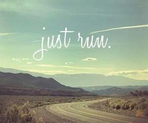run, motivation, and running image