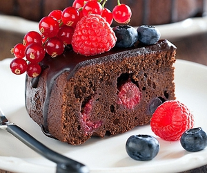 fruit, cake, and yummy image