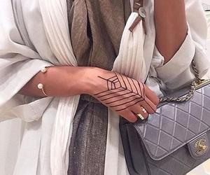 beauty, fashion, and tattoo image