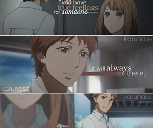 anime, orange, and quotes image