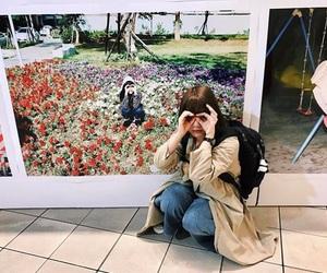 bob, fashion, and flower image