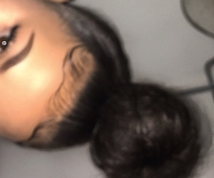 edges, eyebrows, and kylie jenner image