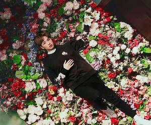 beautiful, flowers, and mark image