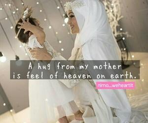 heaven, hug, and mama image