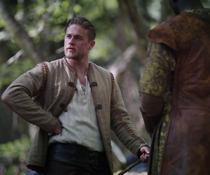 Charlie Hunnam, king arthur, and legend of the sword image
