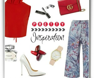 culottes, gucci, and red image