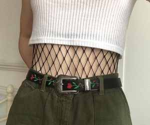 fashion, fishnet, and alternative image