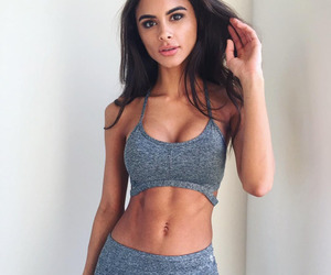 abs, beautiful, and exercise image