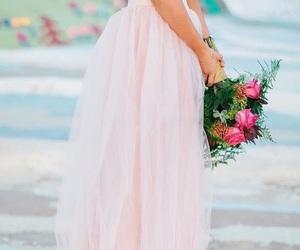 bridal, fashion, and flowers image