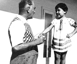 b&w, black and white, and children image