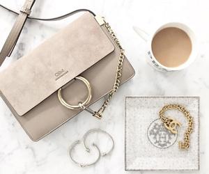 bag, coffee, and chloe image