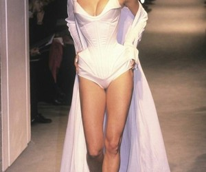catwalk, lingerie, and haute couture image